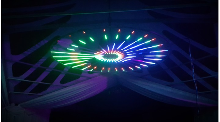 Halo LED Light Display