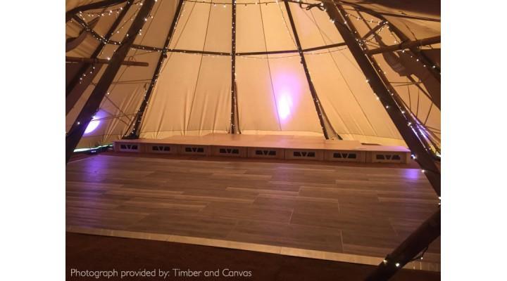Inside-Outside Wood Effect Flooring